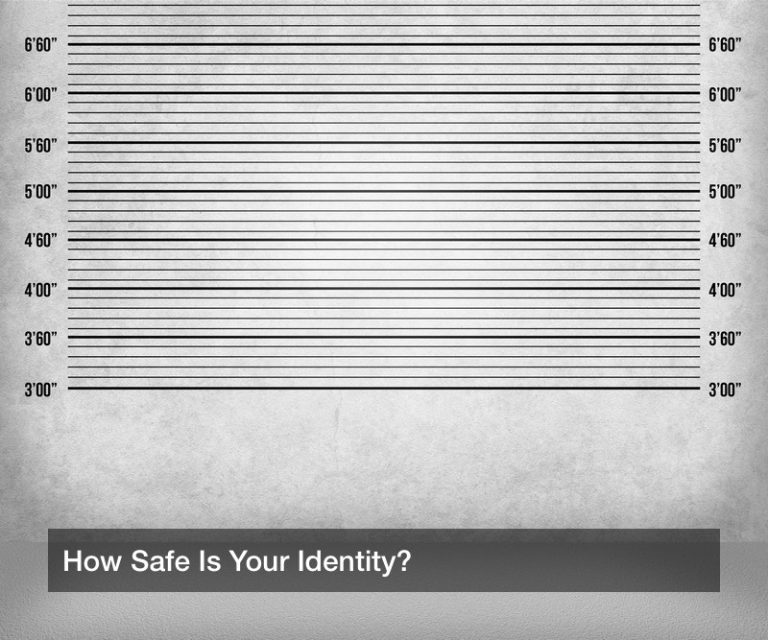 How Safe Is Your Identity?