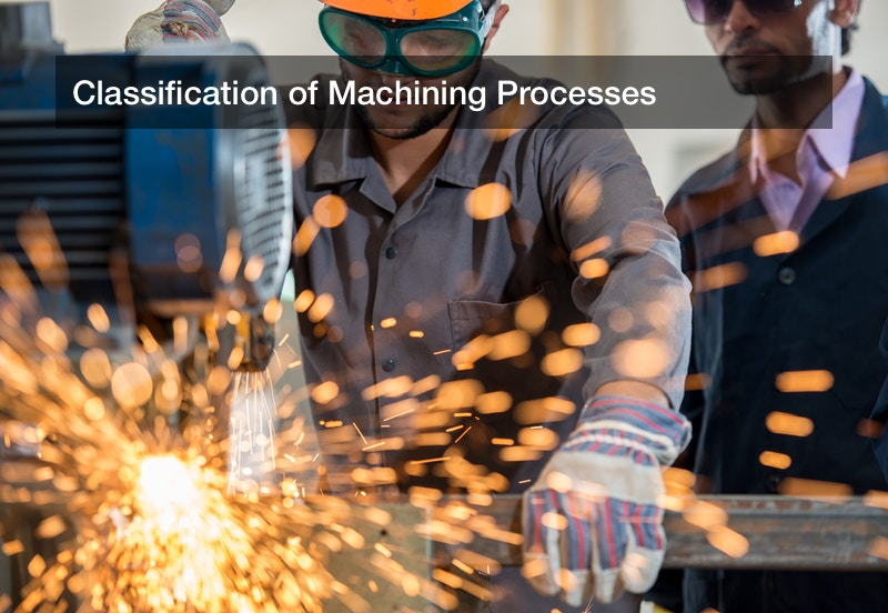 Classification of Machining Processes
